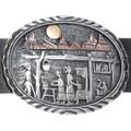 Masterpiece Concho Belt Navajo Storyteller Artwork 34950