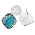 Sterling Silver Native American Earrings Artist Signed 34966