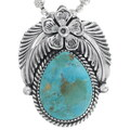 Kingman Turquoise Pendant 35015