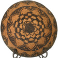 Hand Woven Antique Native American Basket Bowl 33855