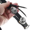 Silver Overlay Concho Authentic Navajo Hatband 35093