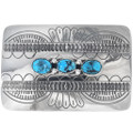 Turquoise Silver Buckles 26796