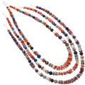 Tommy Singer Rose Singer Navajo Treasure Necklace 35110