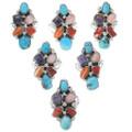 Navajo Roberta Benally Turquoise Rings 35209