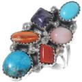 Navajo Turquoise Gemstone Ring 35209