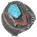 Old Pawn Native American Turquoise Bracelet 35225