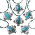 Genuine Turquoise Mountain Pendant Necklaces 35262