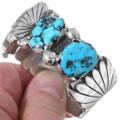 Vintage 1970s Sleeping Beauty Turquoise Watch Bracelet 35284