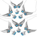 Vintage Sleeping Beauty Turquoise Henry Attakai Necklace 35335