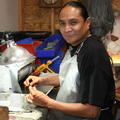 Navajo Silversmith Harold Stevens 35343