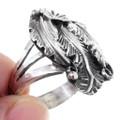 All Sterling Silver Navajo Ring 35344