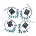 Native American Necklace Earrings Jewelry Sets