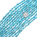 Turquoise Nugget Beads 30 Inch Strand 34795