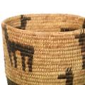 Antique Deer Design Papago Basket Cultural Art 35414