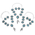 Navajo Hand Made Matching Earrings Necklace Set 27697