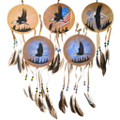 Native American Eagle Totem Wall Hanging 35650