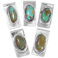 Native American Turquoise Money Clips 34696