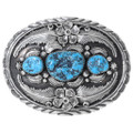 Turquoise Nugget Belt Buckle 24700