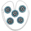 Zuni Tribe Artist Lorencita Walela Turquoise Jewelry 35840