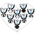 Turquoise Inlay Zuni Thunderbird Pendant Brooch Pin 35842
