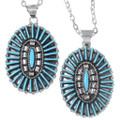Zuni Style Turquoise Pendants 35855