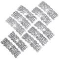 Hammered Silver Navajo Western Hair Barrette 35868