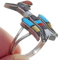 Sterling Silver Turquoise Inlay Ring 35874