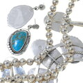 Hand Made Navajo Raymond Delgarito Turquoise Jewelry 35922