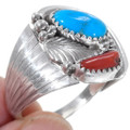 High Grade Kingman Turquoise Ring 35926