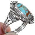 Number 8 Turquoise Navajo Ring 35933
