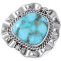 Waterweb Turquoise Navajo Ring 35932