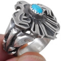 Sleeping Beauty Turquoise Silver Ring 35935