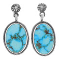 Matching Turquoise Earrings Necklace Set 35949