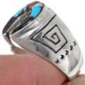 Southwest Style Horseshoe Mens Ring 35963