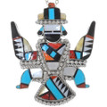 Large Zuni Knifewing Pendant 35993