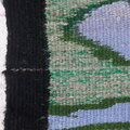 Natural Wool Native American Pictorial Wool Rug 38062