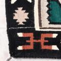Tightly Woven Navajo Made Polychrome Rug 38064