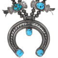 Vintage Sleeping Beauty Turquoise Navajo Necklace 38065