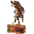 Authentic Hand Carved Kachina Milton Howard Carving 38069