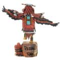 Hopi Tribe Kachina Doll Red Tail Hawk Dancer 38069