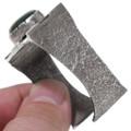 Malachite Sterling Silver Navajo Bracelet 38078