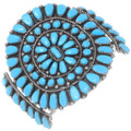 Old Pawn Turquoise Cluster Bracelet 38082