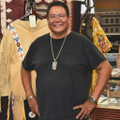 Navajo Calvin Peterson at Alltribes Indian Art 32156