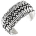 Navajo Sterling Silver Cuff Bracelet 29989
