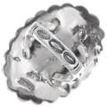 Native American Silver Concho Ring 39146