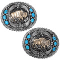 Native American Buffalo Belt Buckle 31414