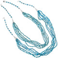 Native American Lula Begay Real Turquoise Necklace 33582
