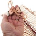Native American Hair Pipe Bone Bead Breastplate 39178