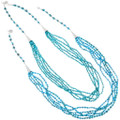 Native American Natural Turquoise Necklace Lula Begay 39183