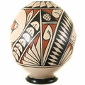 Hand Painted Geometric Designs Southwest Pottery 39191